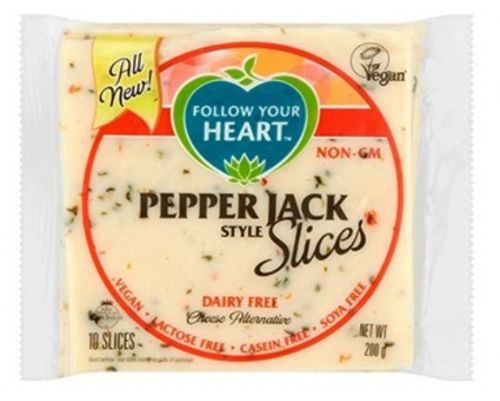 Follow Your Heart Pepper Jack Style Slices 200g